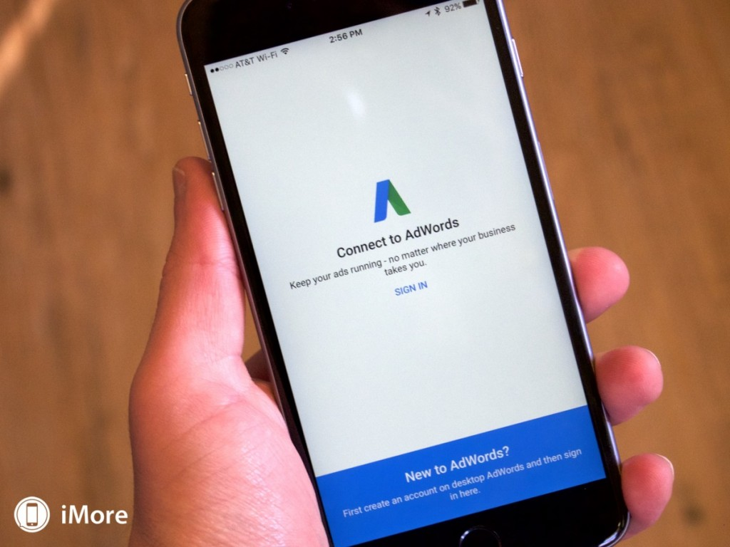 google adwords app ios
