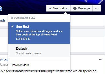 conținut 2018 facebook noutăți update