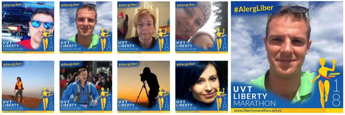 uvt liberty marathon competiție alergare